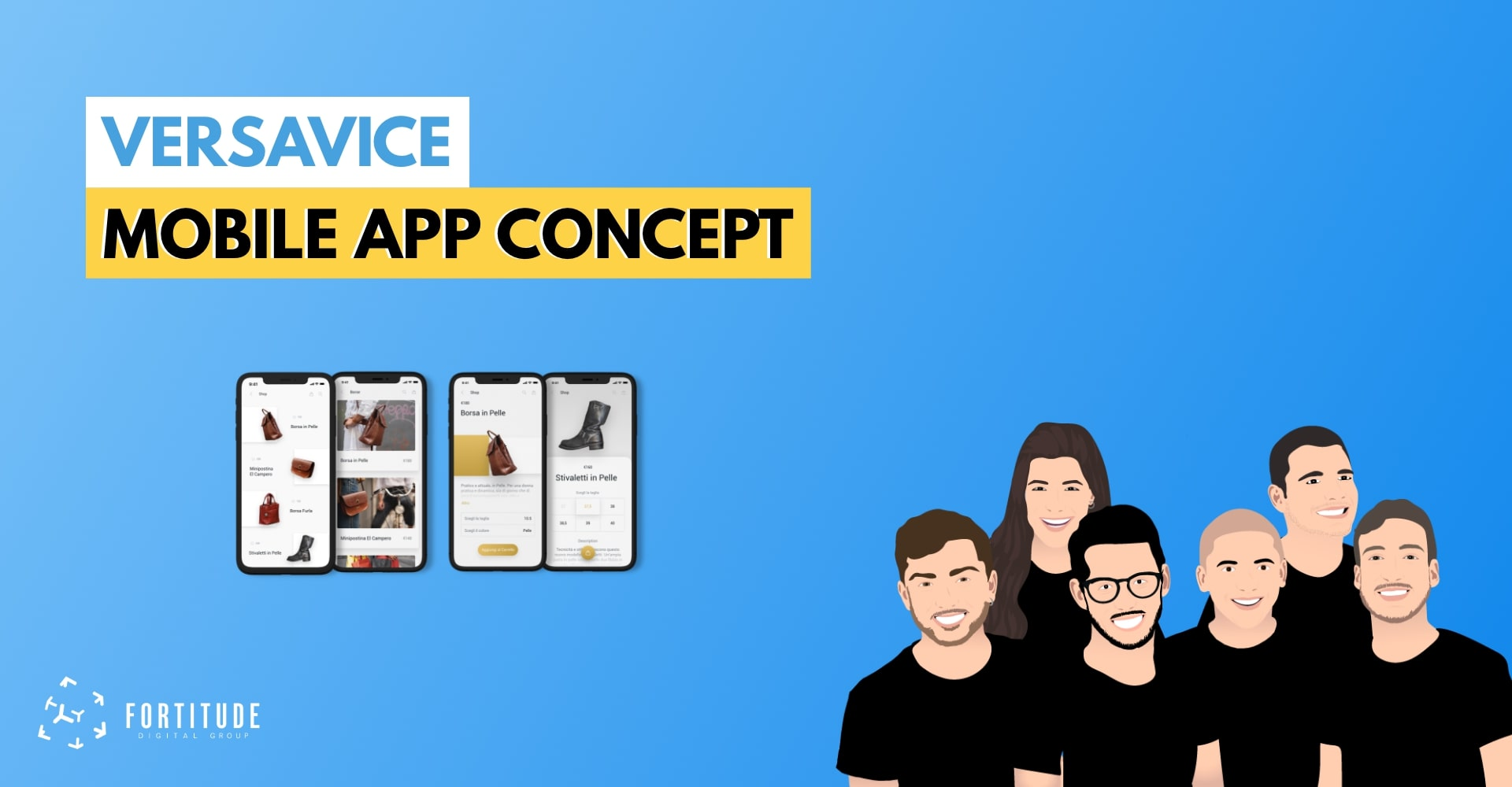 Versavice App: Concept Design - Fortitude Digital Group