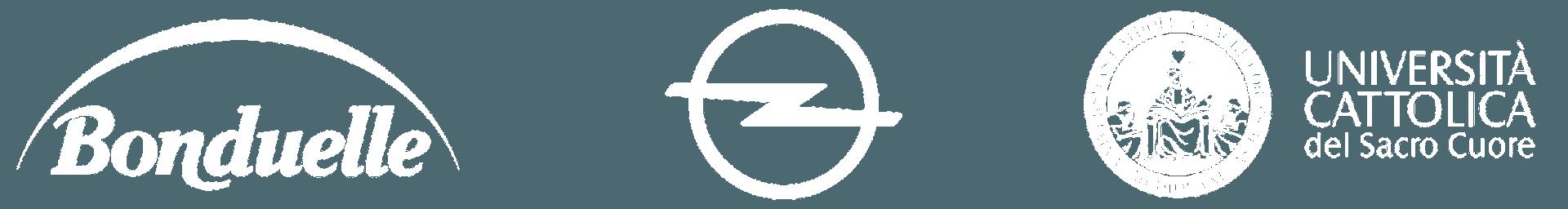 Clienti - Bonduelle - Opel - Università Cattolica del Sacro Cuore